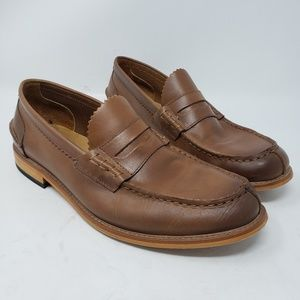 Men's Aldo leather loafers size 10.5